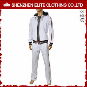 Parte superiore di alta qualità che vende tuta sportiva bianca personalizzata (ELTTI-26)