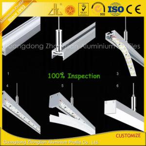 Perfil de LED de aluminio para LED tiras de perfiles de aluminio