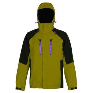 Les hommes Outdoor veste imperméable coupe-vent d'hiver de l'usure de la pluie avec capot