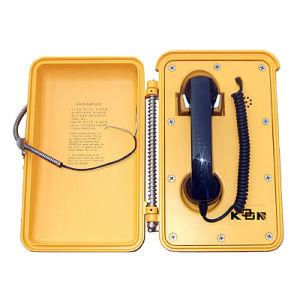 Auto de marcación directa teléfono SIP de teléfono de emergencia para el túnel ferroviario