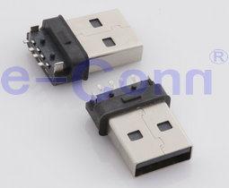 SMT USB2.0 вилочный/гнездовой разъем