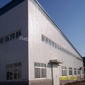 Estructura de acero de la luz de pórtico de almacén con el mejor plan