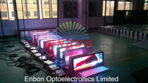 P5 Affichage LED Mobile recto-verso pour Taxi haut (Silan Epistar/LED, Nova système)