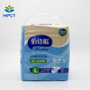 Enfermería desechables durante la noche de alta absorción superficie Seca Japón pañal adulto SAP