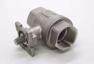 2PC Kugelventil mit ISO5211 CF8