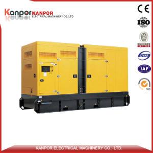 디젤 엔진 침묵하는 발전기 세트 750kVA 600kw Wudong 엔진 Wd287tad61L