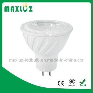 Dimerizável GU10 LED MR16 Sportlight com PC 7W