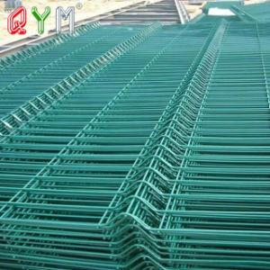 Curvy treillis soudé sur le fil 3D de clôture de panneaux de clôture à mailles prix d'usine