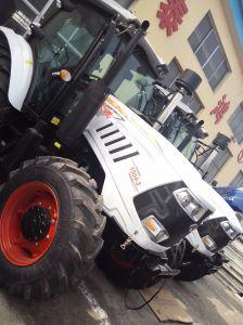 Máquinas agrícolas 185 HP Trator Agrícola com Carregador Dianteiro