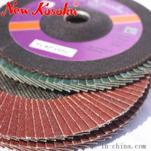 Disco abrasivo della falda di alta qualità di molatura dell'acciaio inossidabile, metallo, pietra di legno