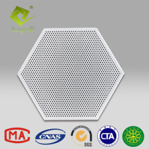 600*1200 Profil décoratifs en aluminium bord carré les carreaux de plafond