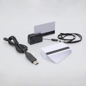 Mini300 Mini USB do leitor de cartão magnético