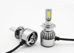 車、穂軸チップのためのC6 LEDのヘッドライトH7 3800lm 30W IP68 LEDのヘッドランプ