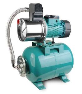 Elektrische 100% kupferner Draht-selbstansaugende Strahlpumpe SS-mit Druckbehälter