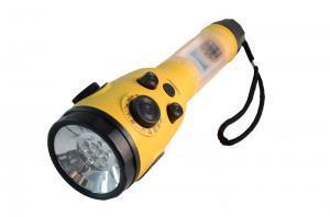 Linterna LED amarillo de FCC, CE aprobada de la radio de manivela (HT-3068)