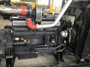 Schwarze Farben-unterschiedlicher angeschaltener schalldichter Dieselgenerator 30kw