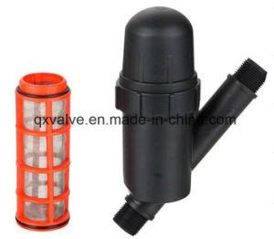 Filter van het Water van de Schijf van de irrigatie de Plastic voor het Systeem van de Irrigatie van de Tuin