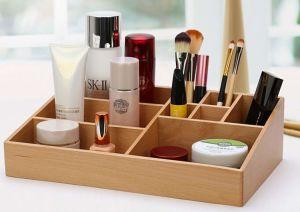 Бамбук письменный стол и макияж данные органайзера с 9 отсеками
