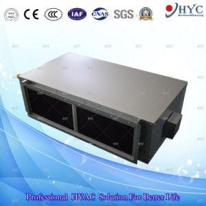 Terminal de HVAC de agua enfriada de alta presión estática de la bobina del ventilador