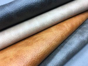 Couro artificial de PU de alta qualidade para sofá /Cátedra-R212HA