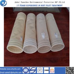 A fábrica fornece diretamente o saco de filtro da poeira de Nomex para a indústria da metalurgia com a amostra livre