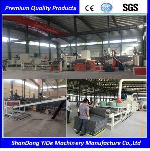 PVC二重混合されたカラーコイル状のカーペット機械生産ライン