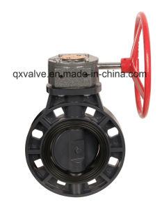 Valvola a farfalla industriale del PVC di uso con l'alta qualità Pn16!