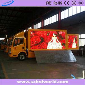 Di cartello mobile locativo esterno/dell'interno della visualizzazione del camion LED di colore completo per la pubblicità con il controllo del USB (P4, P5, P6, P8, P10)