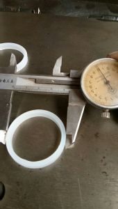 Anillo de sellado del cilindro, caucho o anillo, la junta del cilindro de la junta tórica
