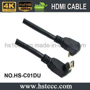 니켈은 90 정도 소형 HDMI 유형 C 케이블을 도금했다