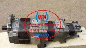 Fabricante OEM~Kawasaki Bomba de engranajes de bomba de tres etapas 44081-60030, 70ziv-2