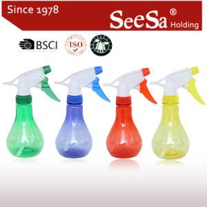 Jardín de 300 ml Pulverizador de presión de la mano transparente Botella/Pulverizador de Gatillo (SX-261)