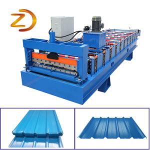 زاهية فولاذ معدن سقف يجعل آلة