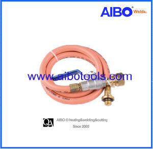 糸および弁(HP-06)が付いているゴム製ガスのホース
