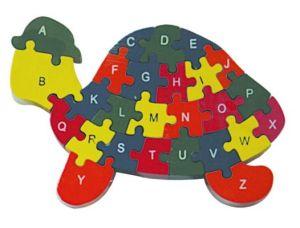 Les jouets en bois Haut Premium Puzzle en bois de bloc 4pack pour les enfants