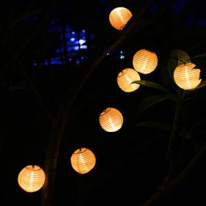 Fiesta de Halloween 6.5meters Navidad cuento de la luz de la cadena de Energía Solar
