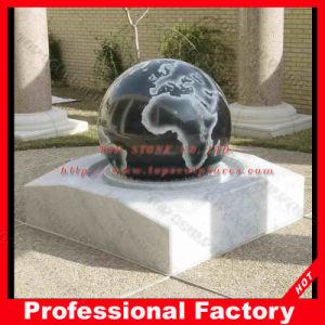 De drijvende Fontein van het Gebied van het Graniet voor Tuin
