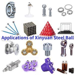 AISI420/bola de acero inoxidable SS420 G100 bolas de acero de 2,0 mm 1.588mm 1/16 pulg.