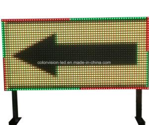 Piscina P10/P16/P20 LED de cor total de tráfego Painel Mostrador de seta para a Segurança Rodoviária Assinar