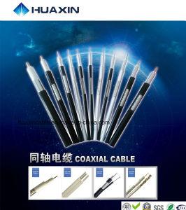cabo coaxial profissional do produto RG6 da manufatura 20years com Ce, RoHS