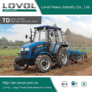 80HP 90HP roda da exploração agrícola agri Curta Garden foton Lovol Diesel Trator com marcação & OCDE