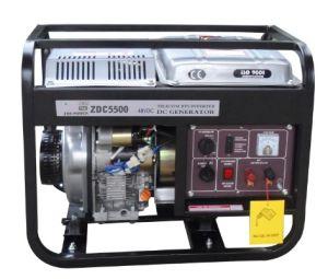 5 квт открытого типа DC дизельных генераторов (ZDC5500)