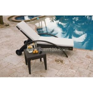 Patio de ocio de Playa Silla tumbona Tumbona (CL-1001)