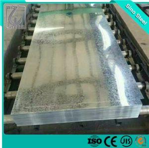 Regular el espesor de 0,4mm Spangle Unoiled SGCC Hoja de acero galvanizado