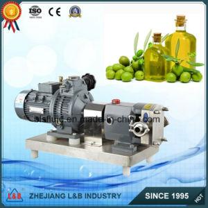 Aço inoxidável da bomba de transferência de óleo vegetal