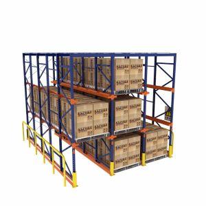 Acier fer Rayonnage à palettes de stockage en rack du système d'entrepôt