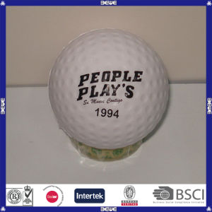 Logotipo barato programável impresso PU bola de golfe