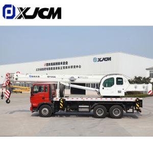Construção 25ton 30ton 50ton Motor hidráulico do tractor de rastos Grua móvel Torre veículo rolante