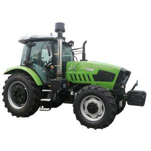 Huabo Bom Preço 110HP 120HP 130HP 140HP 150HP 4WD Fazenda confortável Tractores Agrícolas a máquina Trator com cabine com ar condicionado