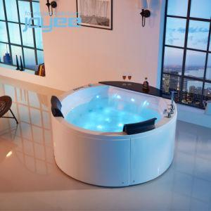 Joyee Autoportante Banho de hidromassagem banheira em acrílico transparente piscina de hidromassagem